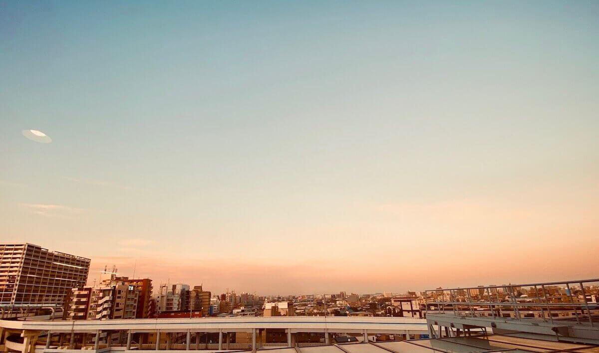 大田区産業プラザPiO/6階からの眺め