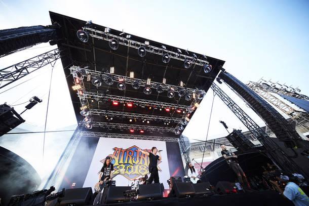2018年9月9日 at ZOZOマリンスタジアム(BRAHMAN)photo by Tsukasa Miyoshi