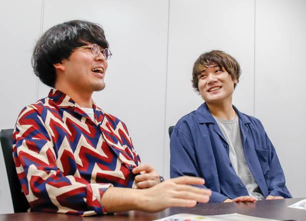 G-NEXT POWER PUSH !  ミヤシタヨウジ(Ba)、ササキハヤト(Vo)