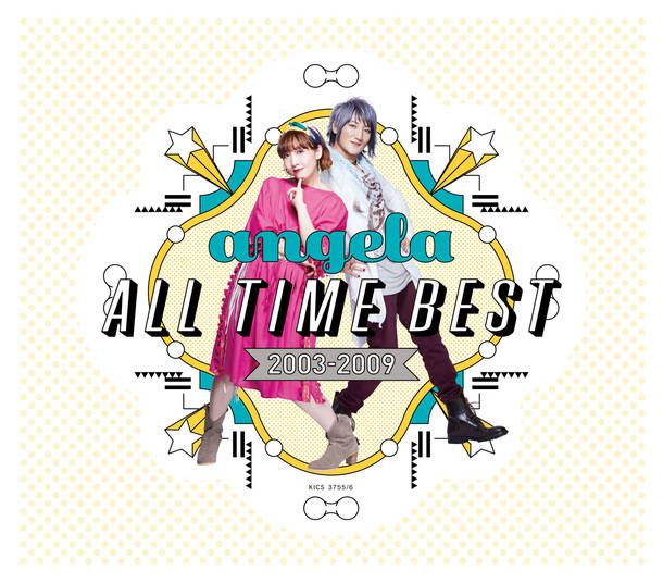 アルバム『angela All Time Best 2003-2009』