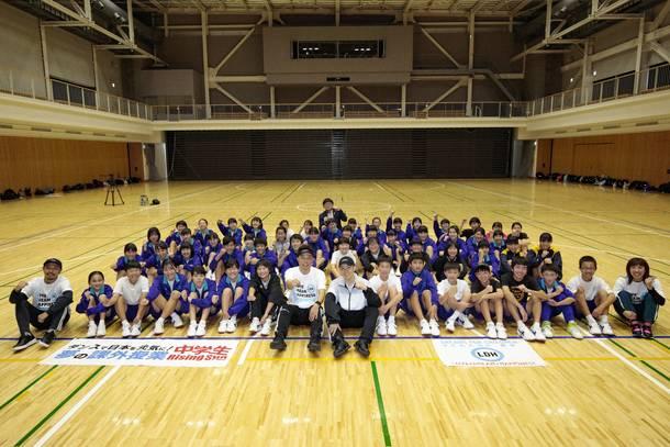 12月19日@広島市立矢野中学校
