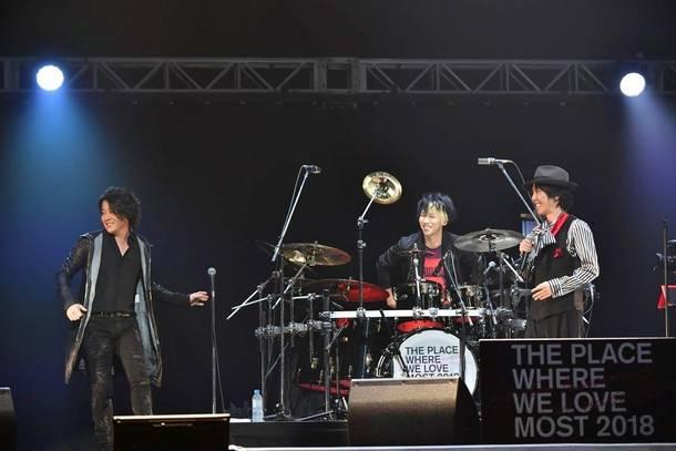 12月27日(木)@『MAVERICK DC GROUP PRESENTS JACK IN THE BOX~LAST BUDOKAN~』(シド×河村隆一)
