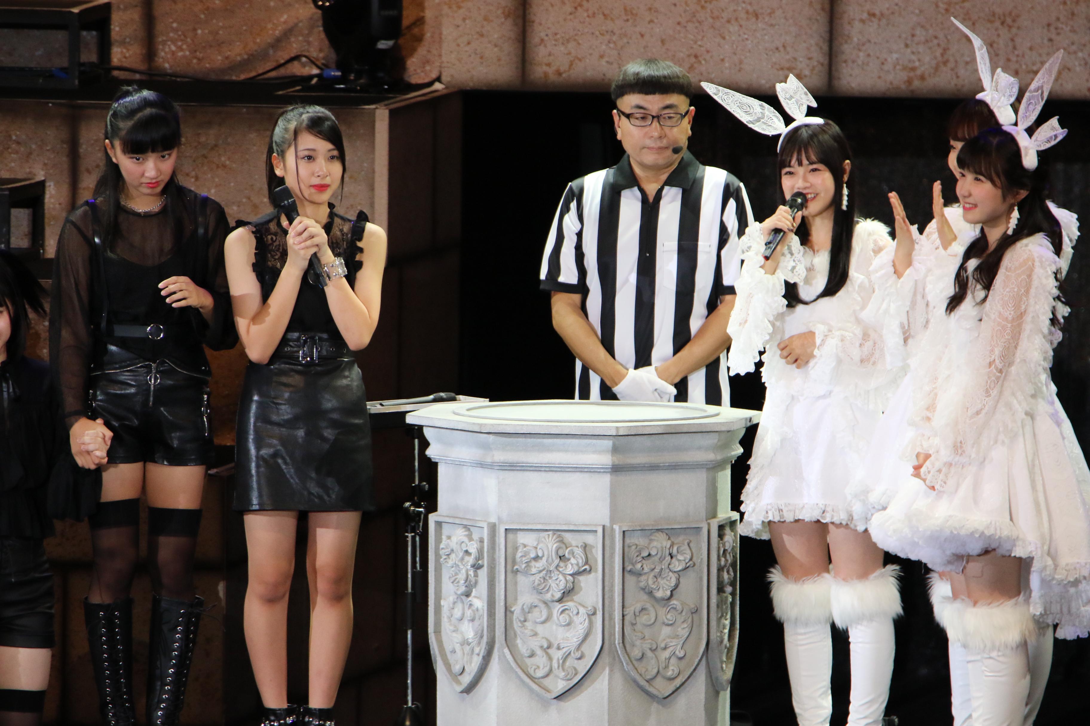 本田仁美(右)(じゃんけん大会、2018年9月23日)