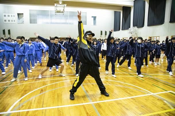 2月8日@「ダンス教育及びSDGsの推進等に関する協定書」締結式