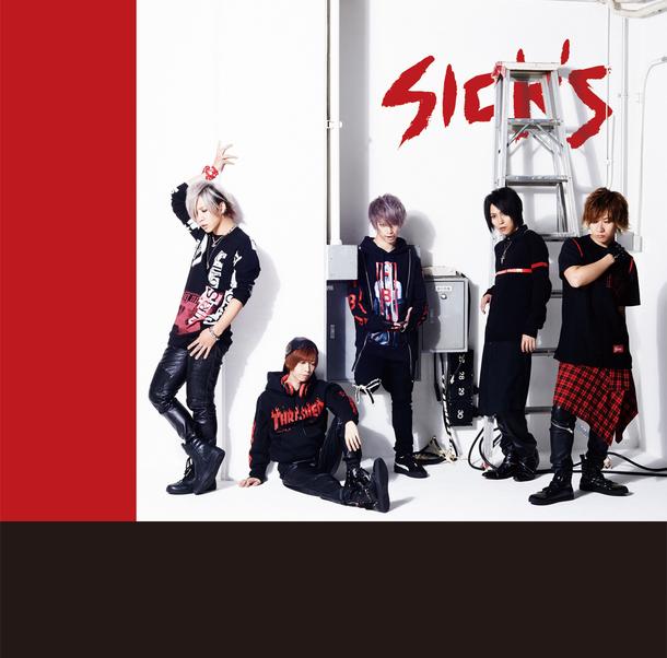 シングル「SICK'S」【LIMITED EDITION】(CD+DVD)