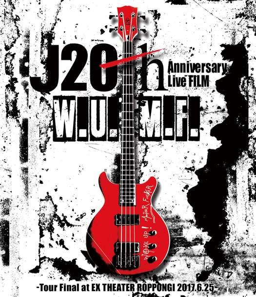 DVD&Blu-ray『J 20th Anniversary Live FILM [W.U.M.F.] -Tour Final at EX THEATER ROPPONGI 2017.6.25-』【通常盤】(1Blu-ray)