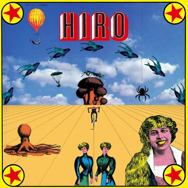 LPレコード『HIRO』/柳田ヒロ