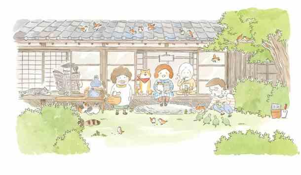 TVアニメ『まめねこ』(c)ミューズワーク/さくら舎/まめねこ製作委員会