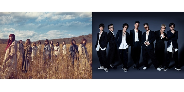 12月第5週のアーティストラインナップ(E-girls、三代目 J Soul Brothers from EXILE TRIBE)