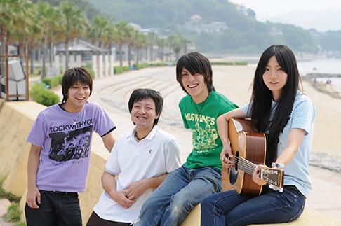 L→R Nochi(Dr&Cho)、Sean(Gu&Cho)、Lupin(Ba&Cho)、Misaki(Vo&Gu)