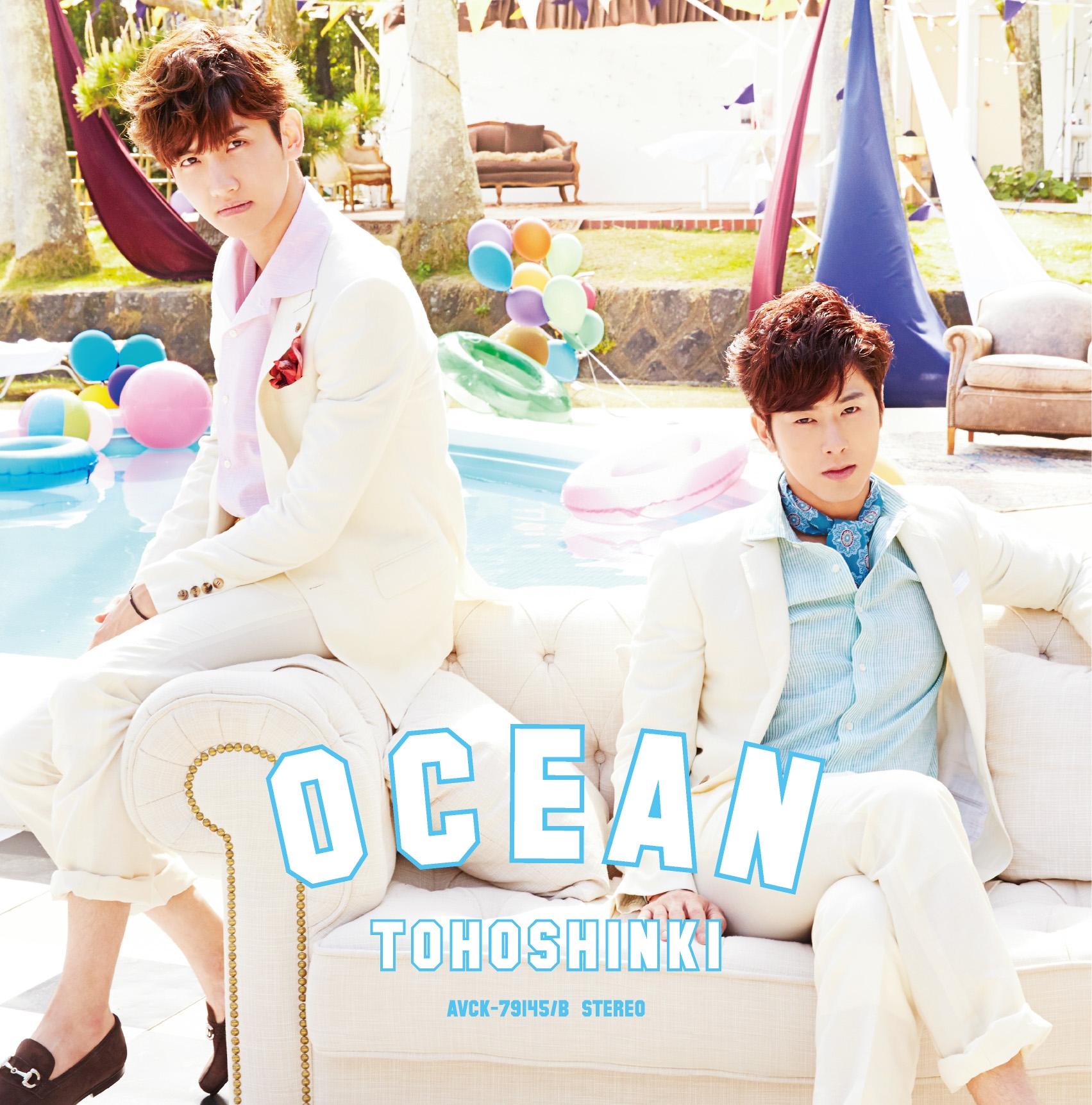 東方神起  シングル「OCEAN」