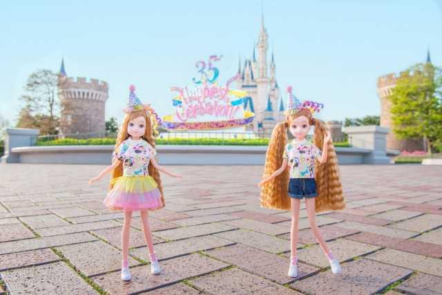 東京ディズニーリゾート 35周年ファッションドールお着替え&小物セット ©Disney