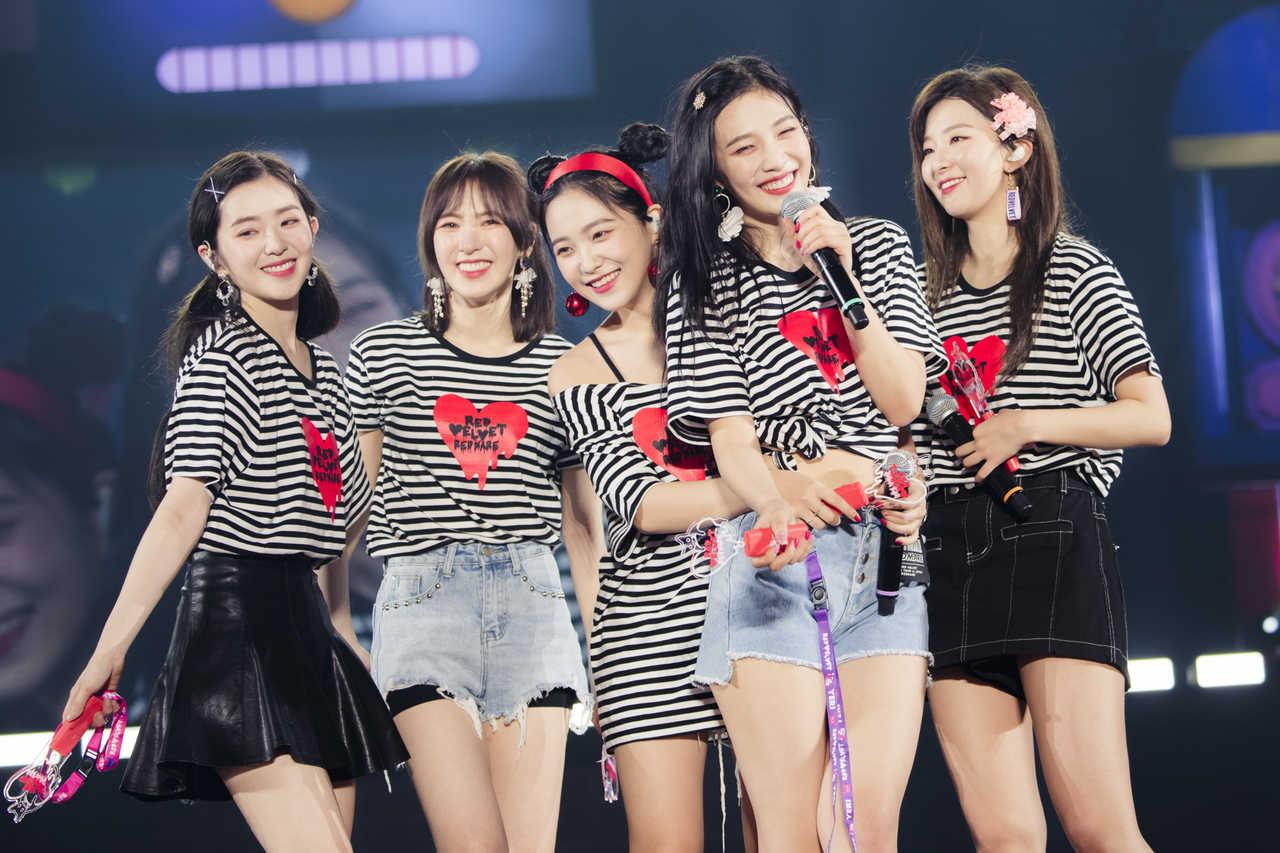 Red Velvet 初の日本アリーナツアーを開催!日本オリジナル楽曲のリリースをサプライズ発表!