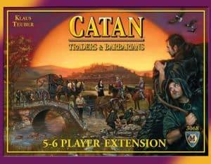 カタンの開拓者たち 拡張 商人と蛮族 5-6人