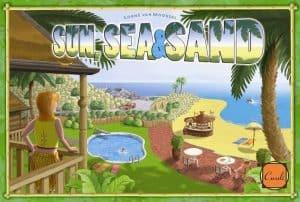 太陽、海、そして砂