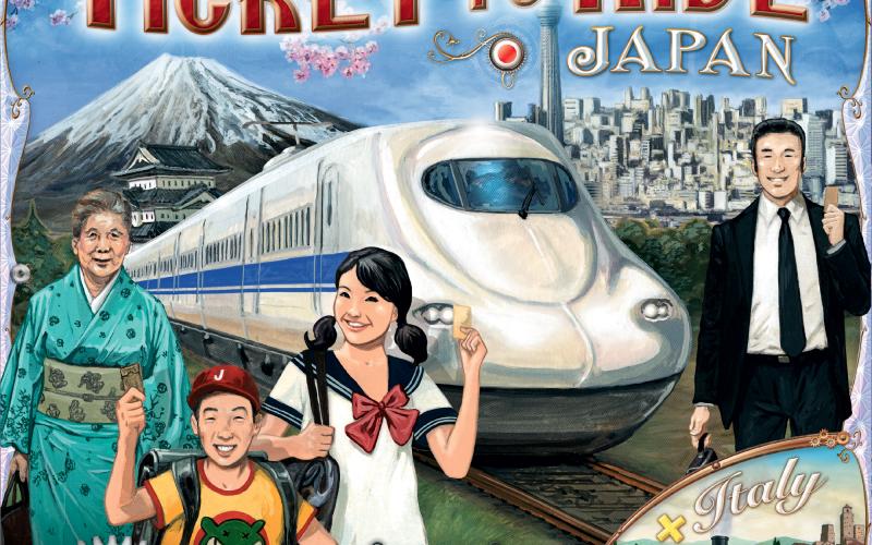 チケット・トゥ・ライド 拡張 日本&イタリア