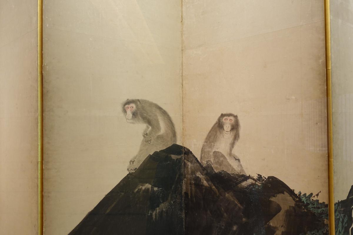 若冲や応挙の作品を見に、京都・嵐山の2つの美術館へ。