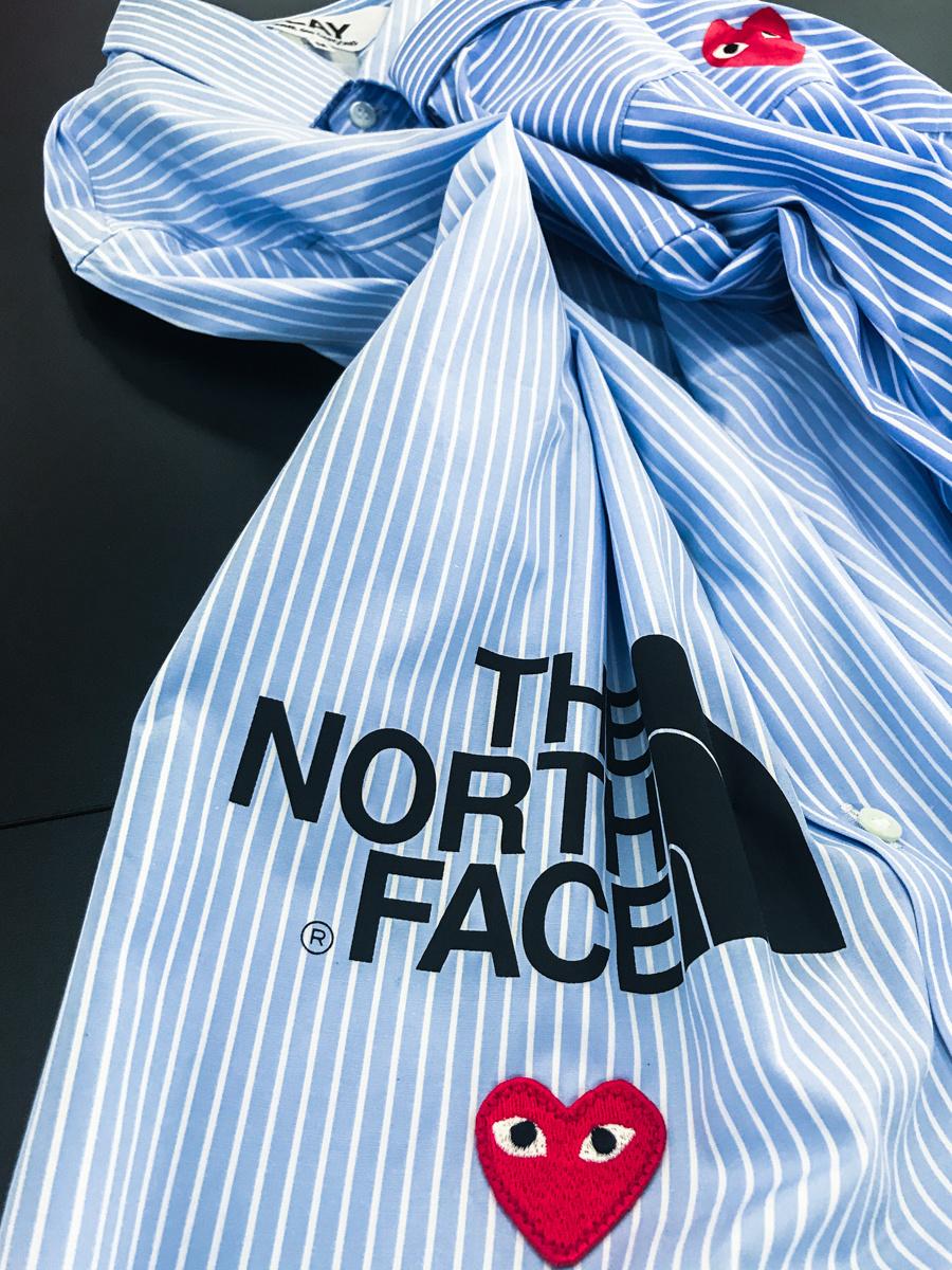 ナイキ、ザ・ノース・フェイスetc.と、プレイ・コム デ ギャルソンのコラボが8月末に登場!