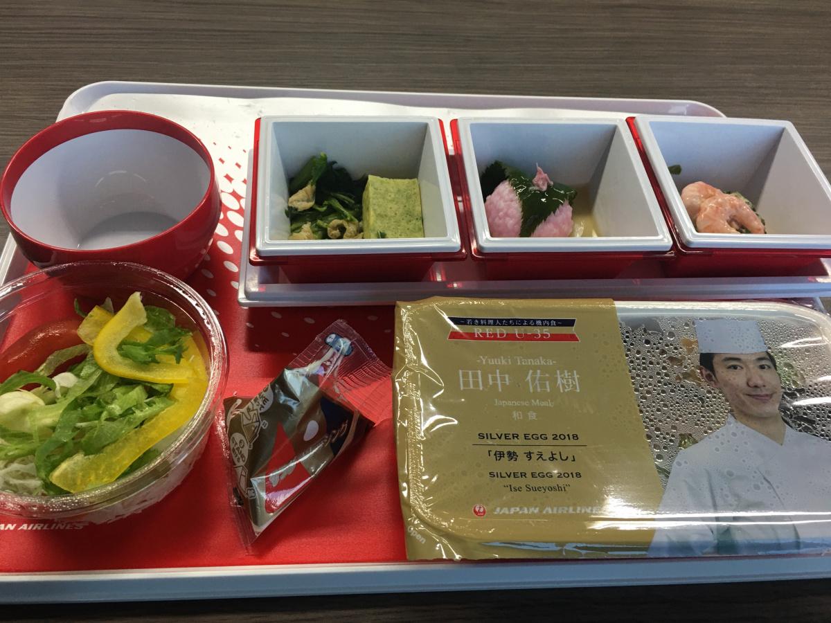 JALのエコノミークラスで楽しめる、注目の料理人が手がけたサステイナブルな機内食。