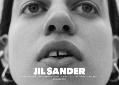 こんどは4名の競演。ジル サンダー2021年春夏キャンペーンにまた心がざわつく。