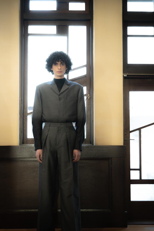 自由学園 明日館でのファッションショー!  東京都が支援する、注目メンズのタークです。