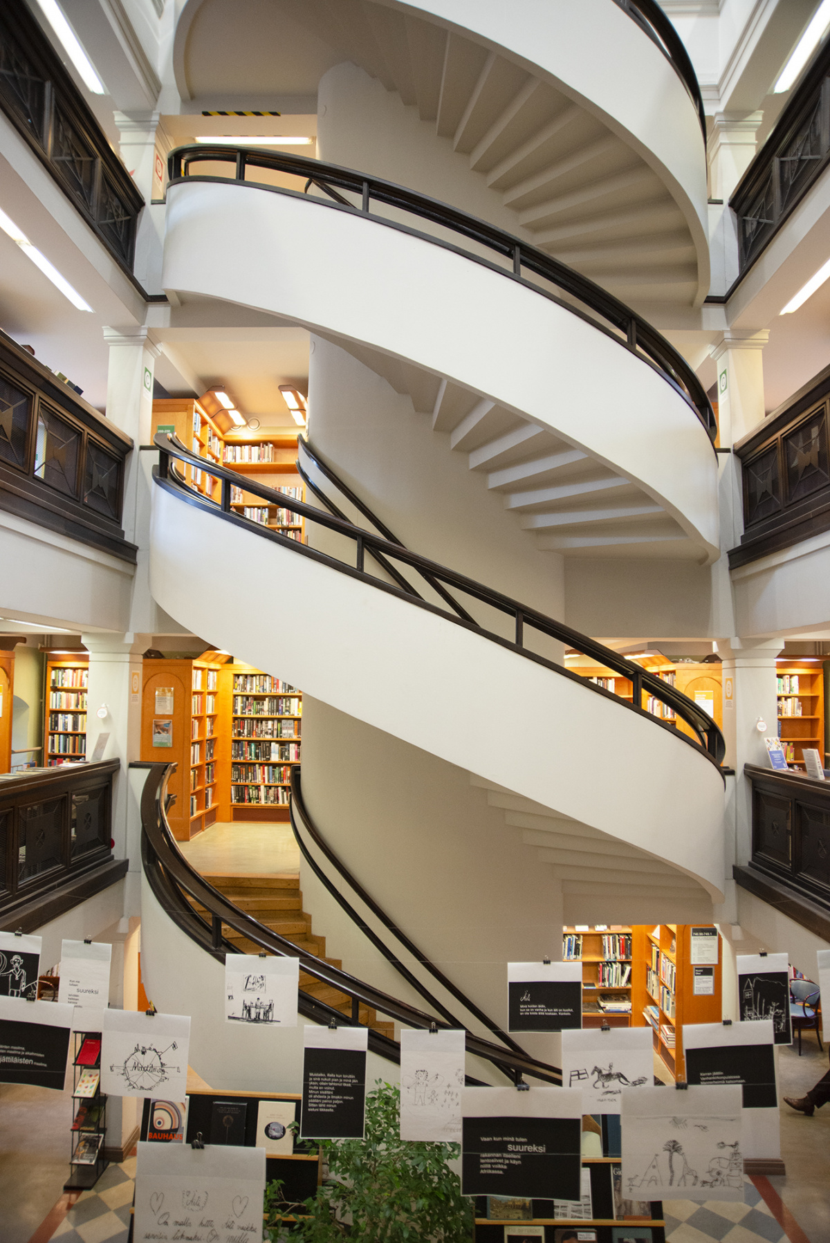 北欧初の図書館で考える、フィンランドにおける図書館の意味。