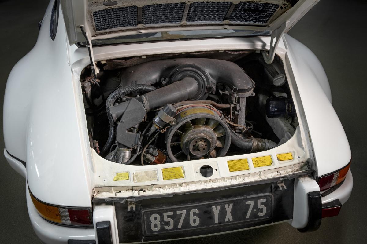 シャシナンバー「9113600233」、72年に製造された正真正銘のライトウェイト