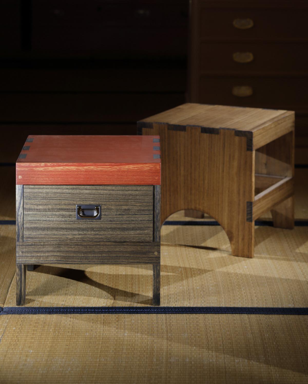 伝統技法を活かして、現代の暮らしに寄り添う家具を提案。