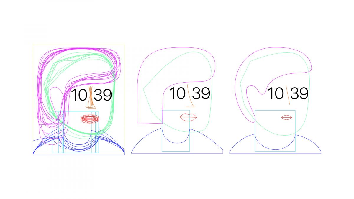 見るたびに表情を変える文字盤の誕生。