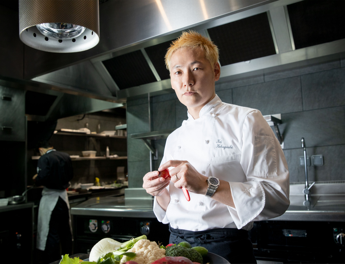 革新がクラシックになる。そんな料理をつくりたい。
