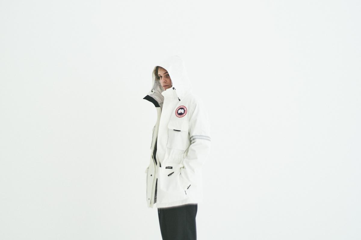 北極の科学者たちのためにつくられた、「サイエンス リサーチ ジャケット」