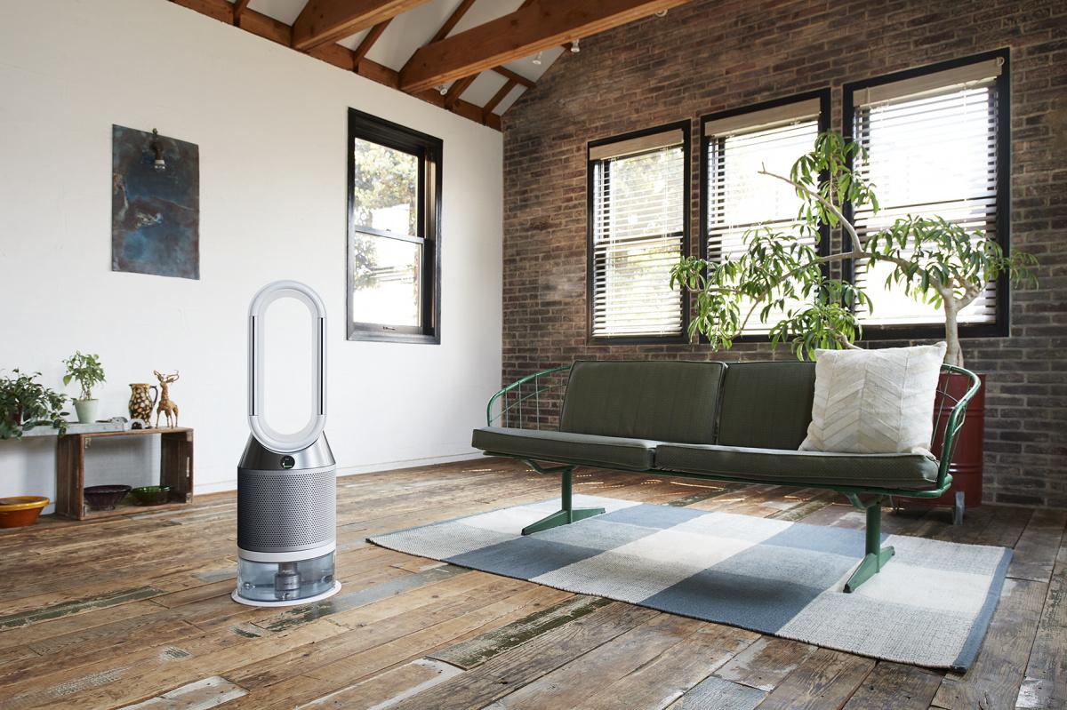快適な風で空気を清浄しながら、湿度までコントロール。「Dyson Pure Humidify + Cool」で、爽やかな毎日を過ごそう。