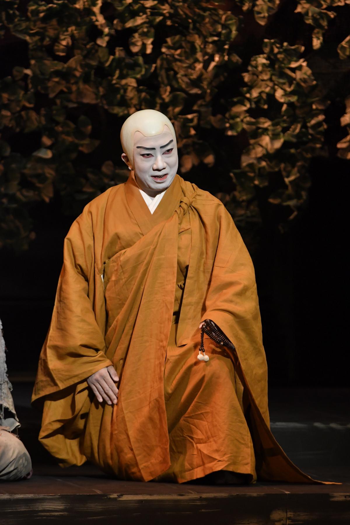 魂震える歌舞伎体験、公演中の市川猿之助が語る『日蓮ー愛を知る鬼(ひと)ー』