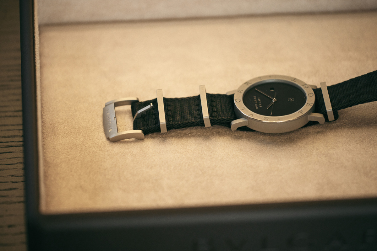 ブルガリでは初となる、腕時計のコラボレーション