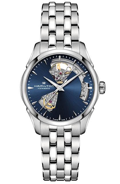 時計の個性を楽しむ「ジャズマスター オープンハート」