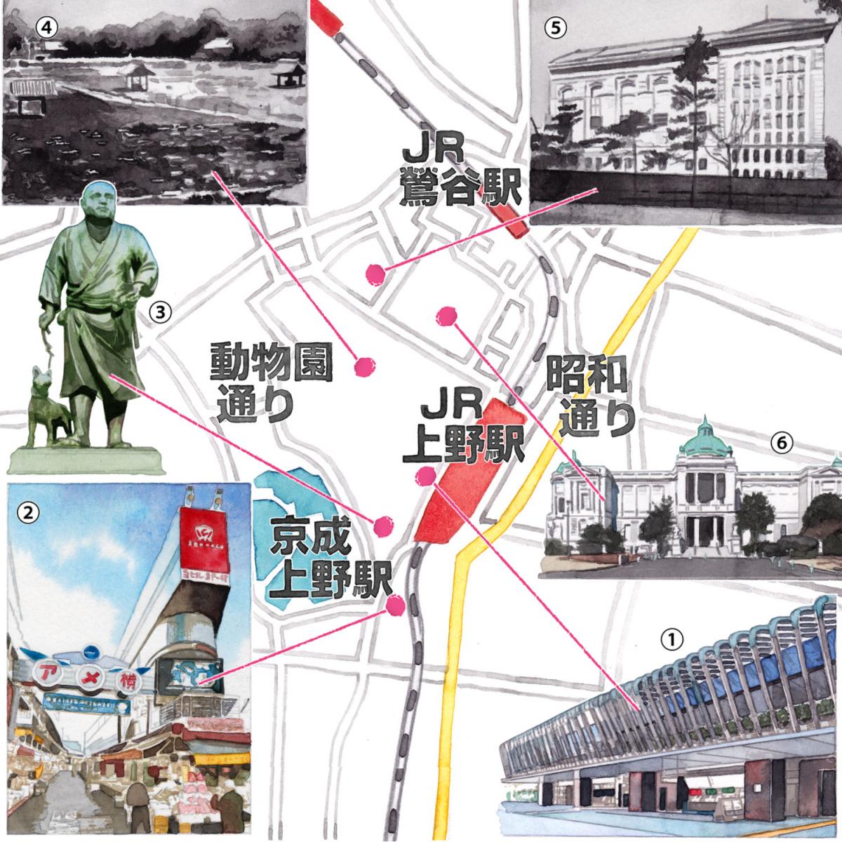 新宿や渋谷に移っていった、東京の重心。