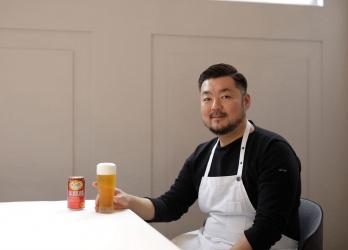 関西フレンチの実力派「ラシーム」高田裕介シェフが驚いた、「本麒麟」のこだわりの味とは?
