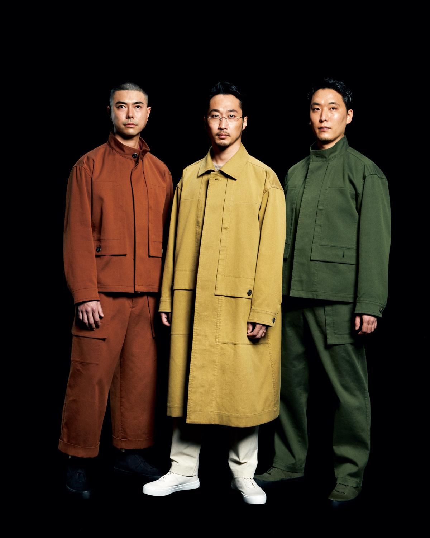 優れたプロダクトのように、 機能と美を兼ね備える男服。