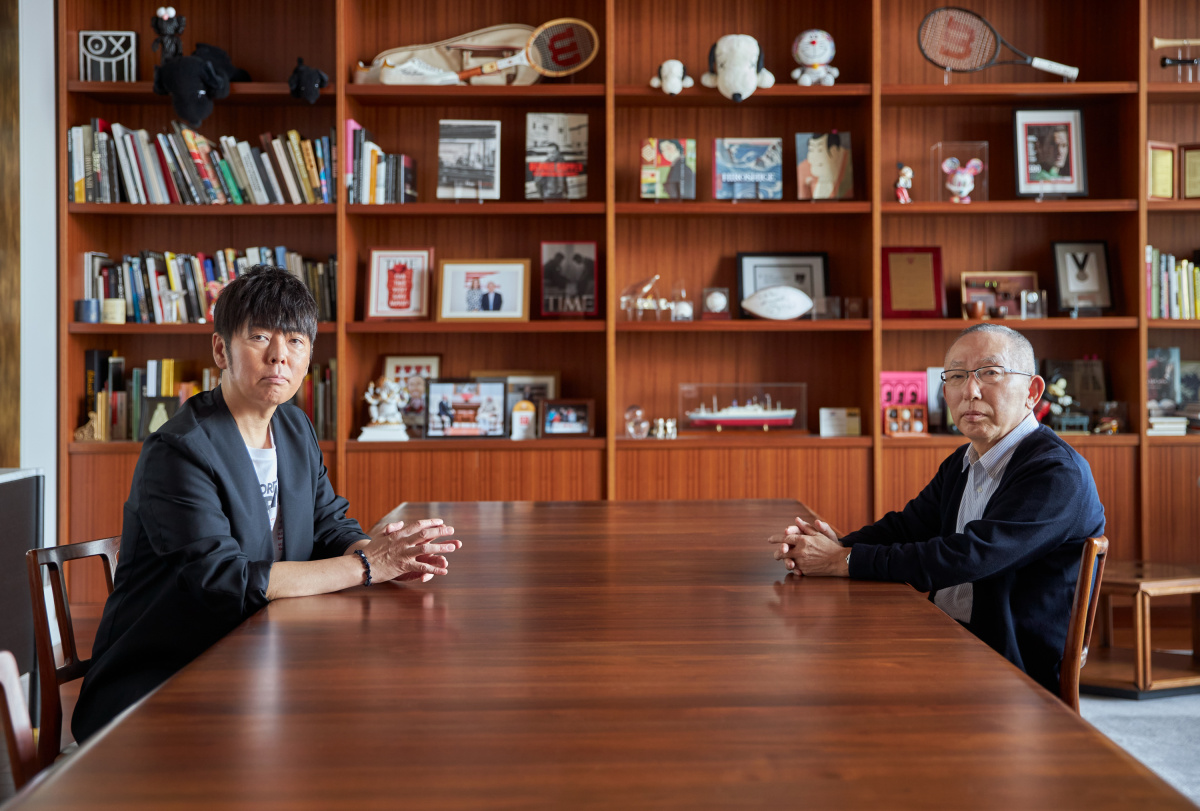 対談:柳井正×佐藤可士和 、ニッポンを動かすふたりが語ったこと。