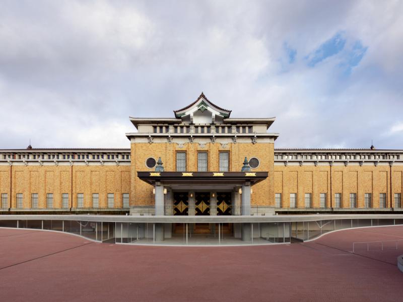 建築で古今をつないだ、京都市京セラ美術館。