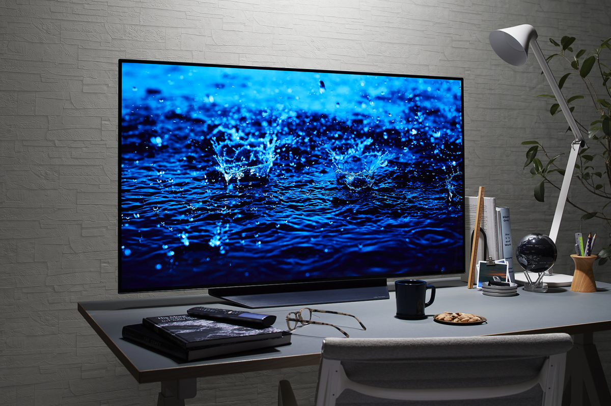 プライベート空間に極上の映像美を表現する、LGの48インチ有機ELテレビ