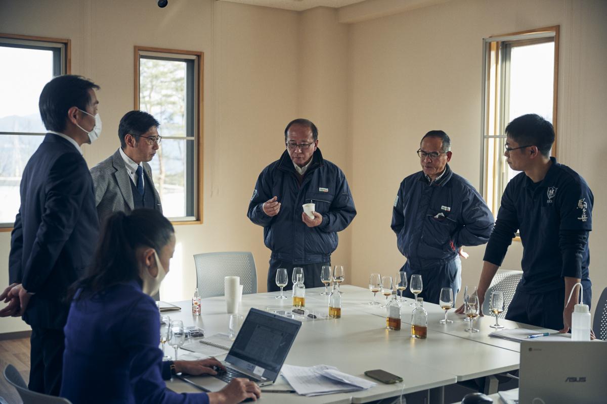 こだわり抜いてセレクトされた、駒ヶ岳の原酒。