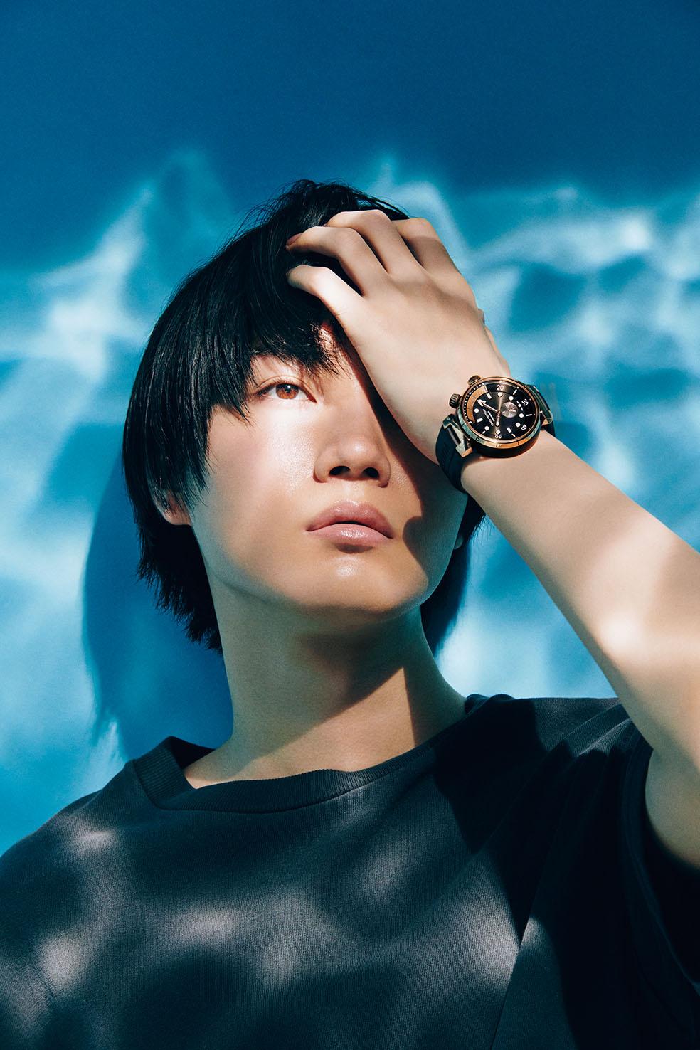 俳優・桜田 通が着ける、活躍の場を広げたルイ・ヴィトンのタイムピース