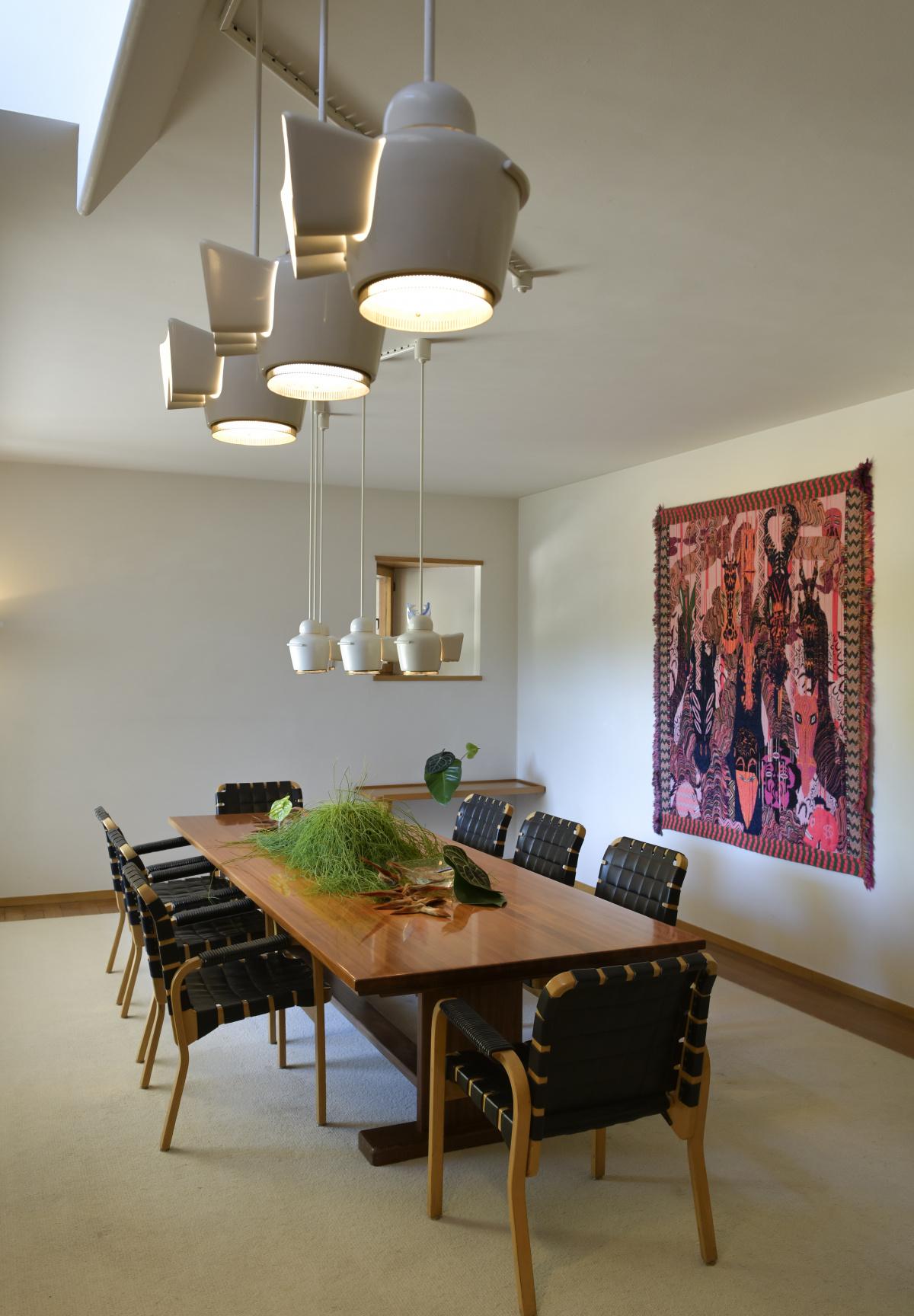 1.フィンランドの巨匠アルヴァ・アアルトが手がけた、大物画商の家。|ルイ・カレ邸