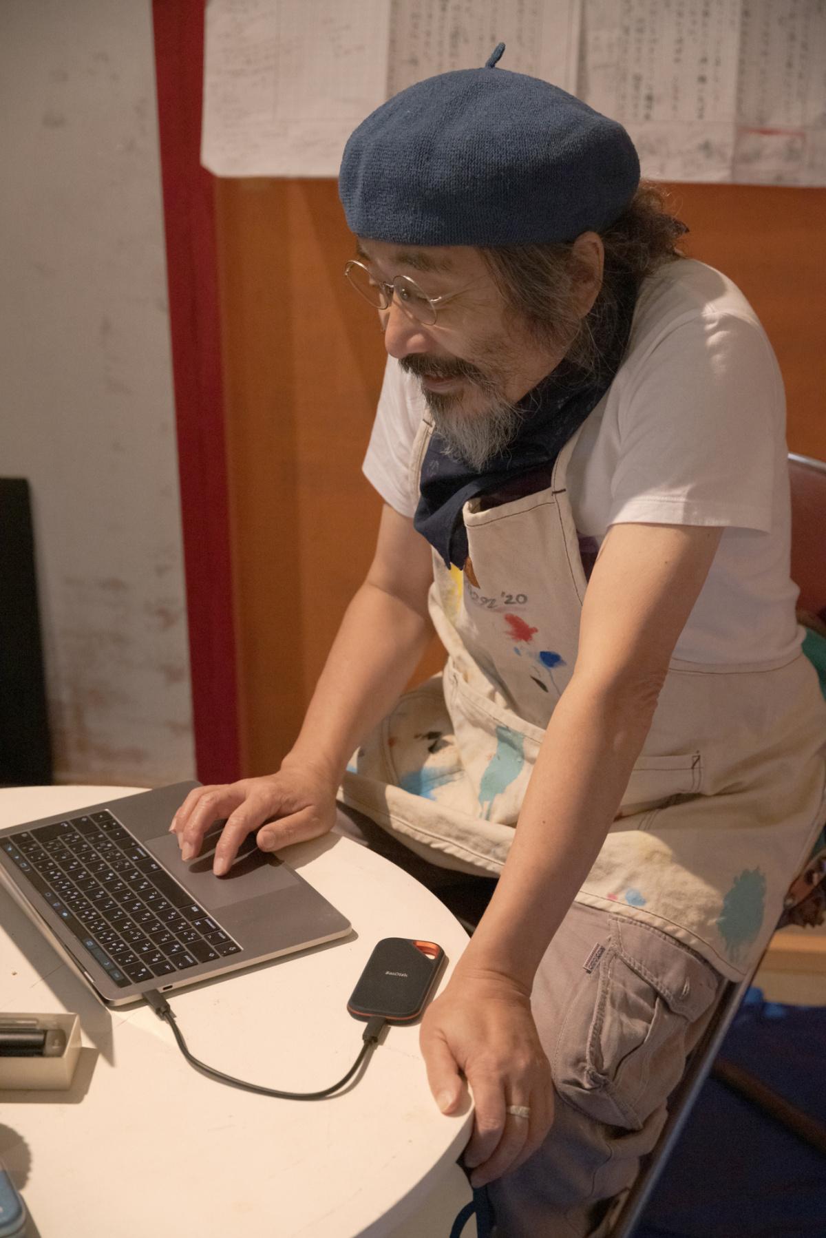安齋さんを悩まし続ける、膨大なデータの管理。
