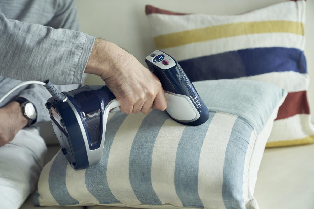 手軽にクッションの除菌・脱臭をして、自宅での時間を快適に。