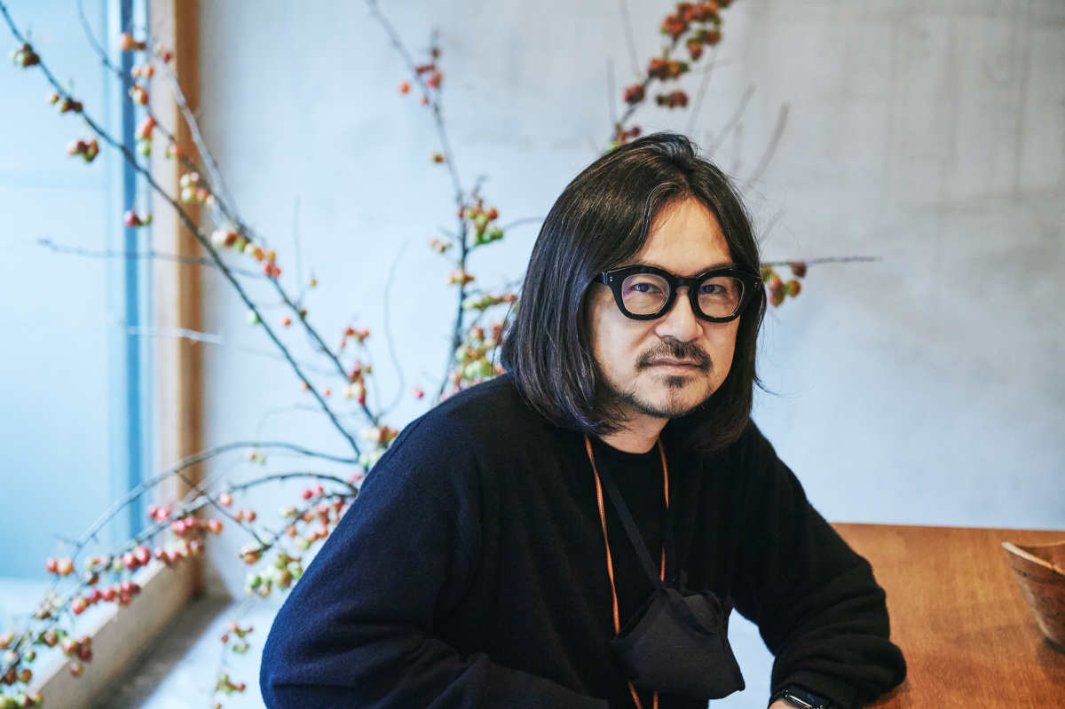 着てカッコよく、持続可能な服。テクスト、マーカウエア、マーカの石川俊介がそのストーリーを解説する。