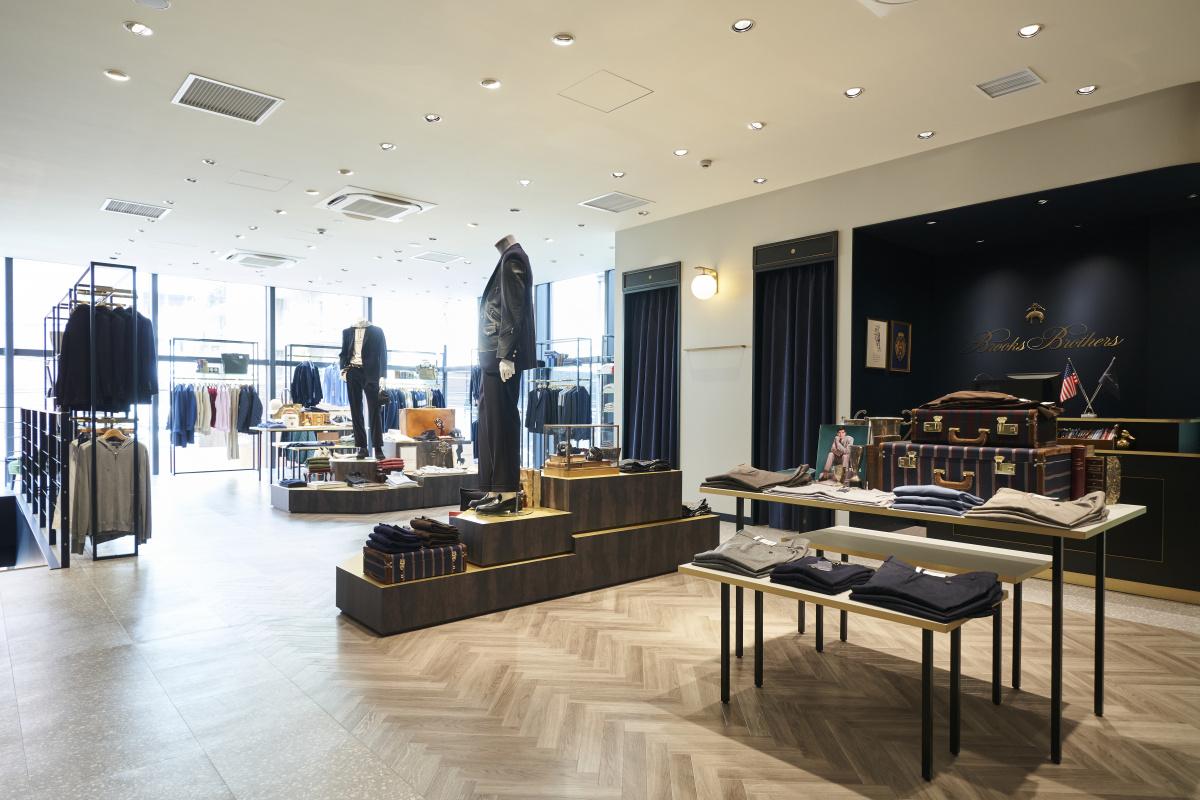 ドラマの舞台となった表参道の新店舗は、トラッドの面影とモダンな雰囲気が同居。