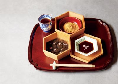 日本料理の名店が手がける、ピュアな味と儚い口どけの「わらびもち」に心酔
