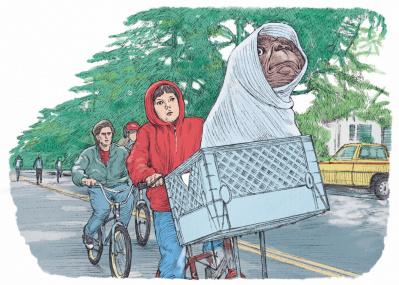 SF映画『E.T.』の名シーンを彩った、不朽のアメカジアイテム6選